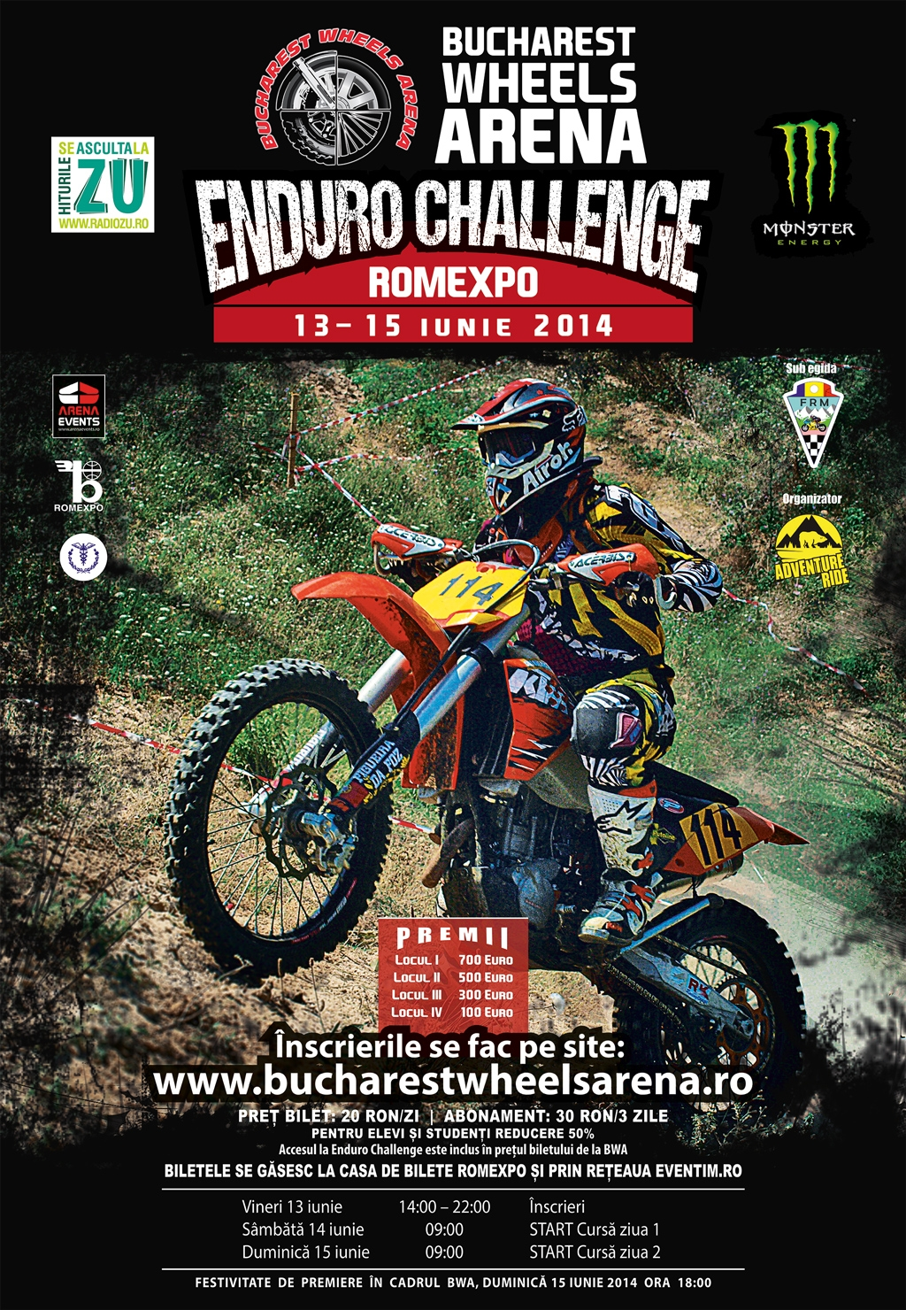 Bucharest Wheels Arena Enduro Challenge 2014<br>